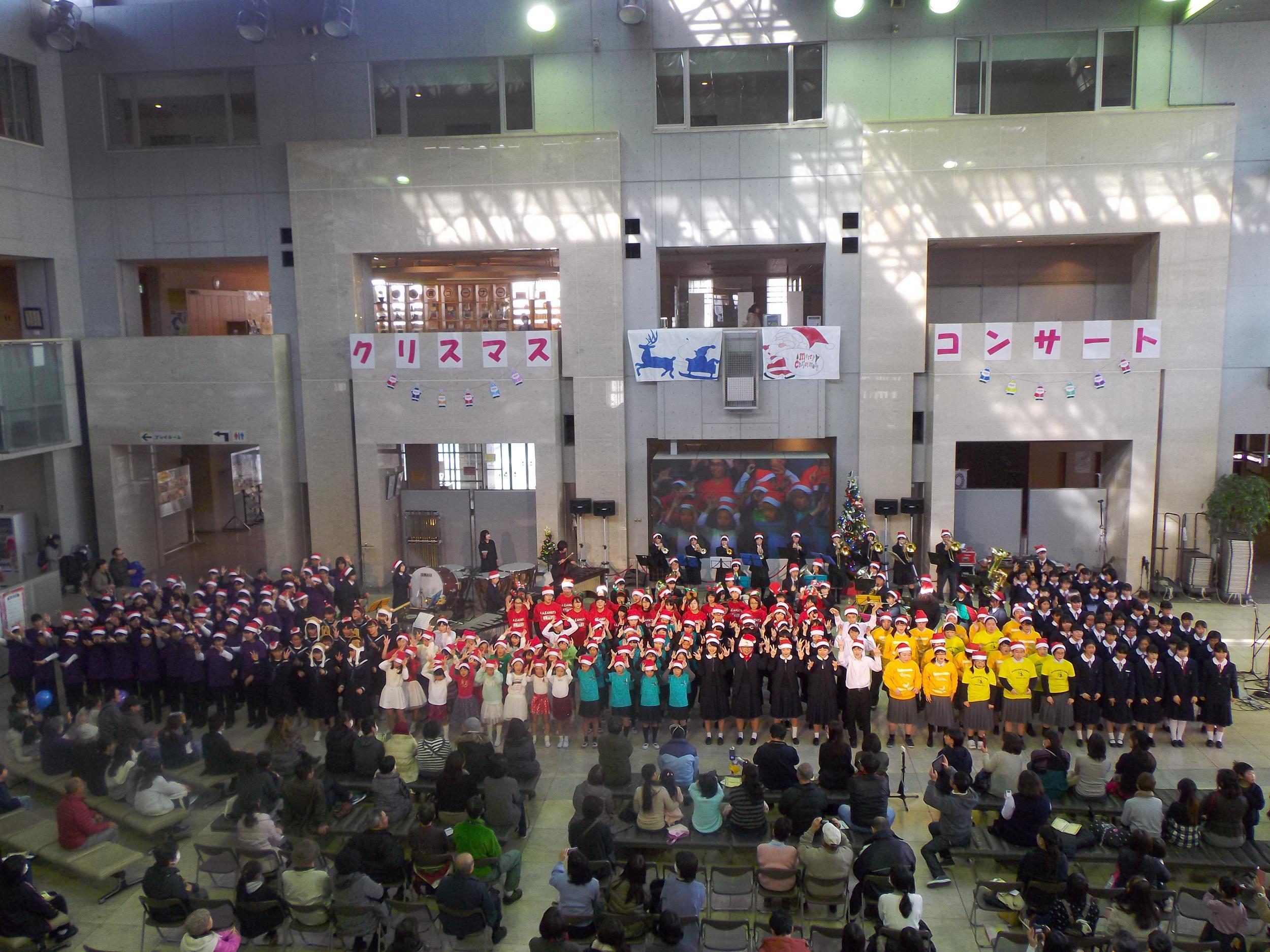 12/15(土)20校以上が参加! クリスマスコンサートin県民プラザ