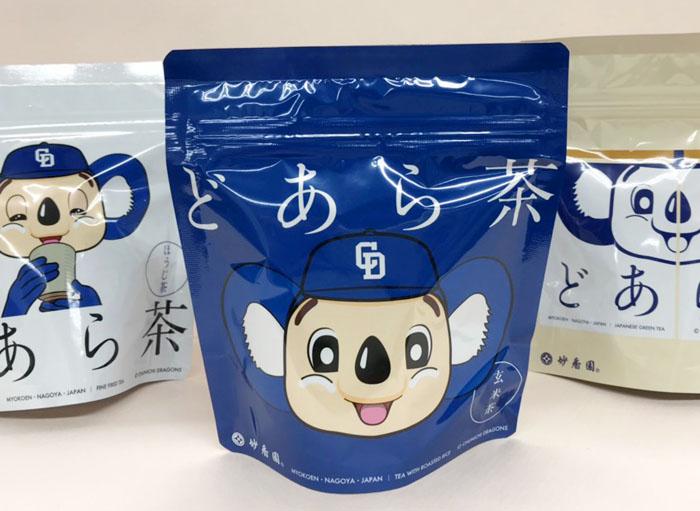 """妙香園が""""ドアラ""""とコラボ。新発売の「どあら茶」を飲んでみた!購入者はお抹茶&和菓子サービスも"""