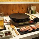 桜島溶岩石で焼く絶品の【鶏】とり焼き鶏だし料理「トリヤコット」東札幌