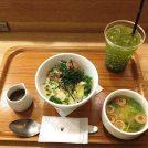 おひとりさまランチがしやすいカフェ「ナナズグリーンティー」@国分寺