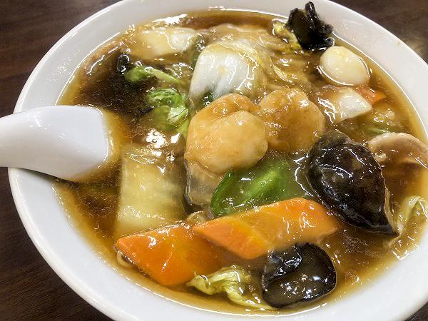 どろっとアツアツあんかけ麺が人気! 藤沢駅前「中華 大新」