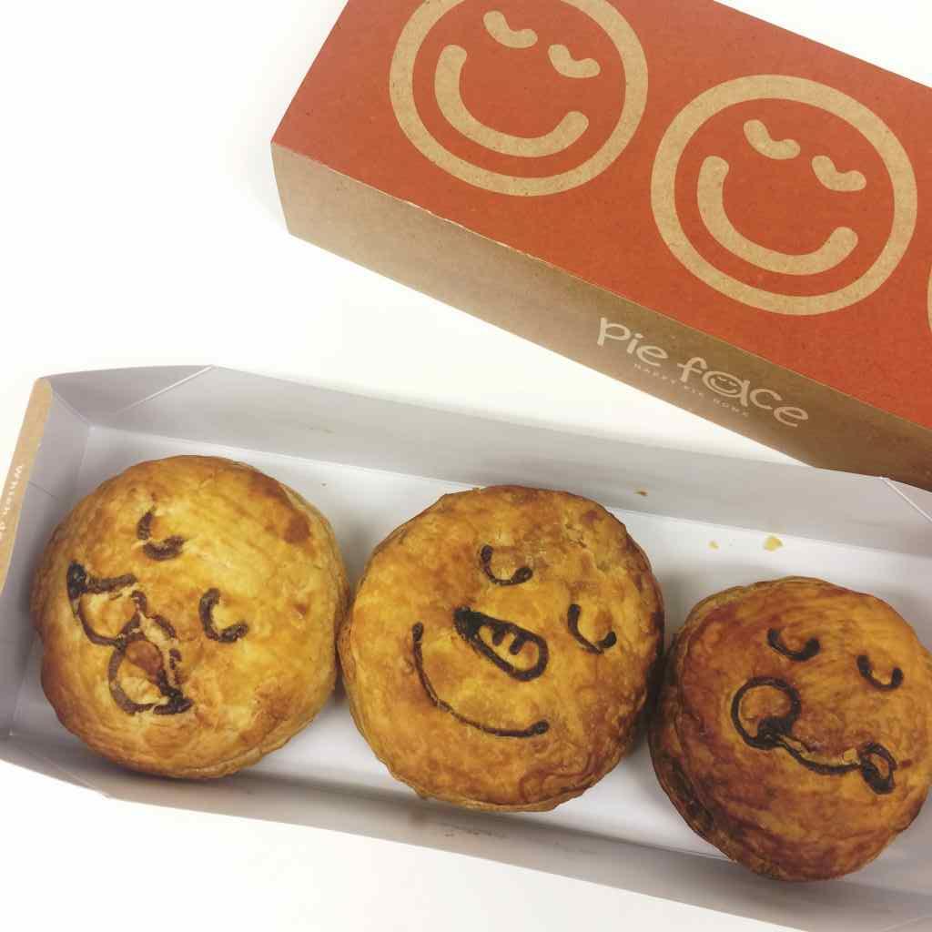 パイ専門店「パイフェイス」のクリスマスパイがかわいくて、おいしい!