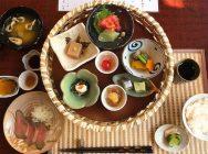 箕面滝道にNEW OPEN!「旬彩和食 紅葉」の籠盛りランチは開店直後か予約がベスト
