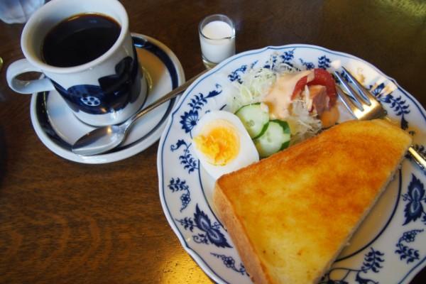 コーヒーを味わうならココ!『ホンキートンク』でゆったりモーニング@岡山市北区