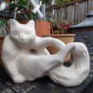 江ノ島「ギャラリー&雑貨 Gigi」の版画とカフェごはんと黒猫と