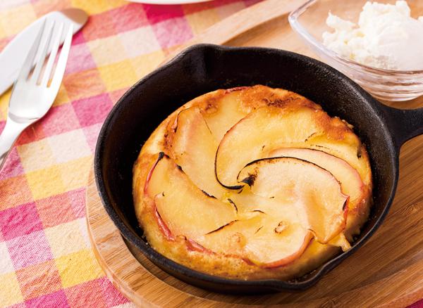キャラメルりんごパンケーキ★