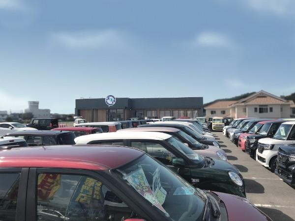 新規オープン・「届出済 軽未使用車専門店 軽ならアクア 北久米店」