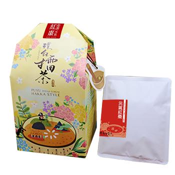 台湾・新竹県北埔郷の「璞玉擂茶」個包装パック