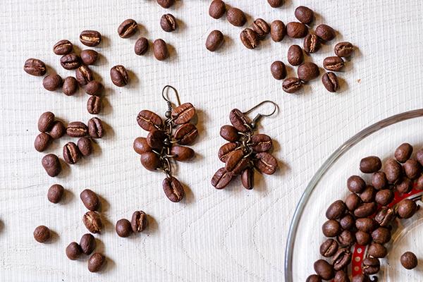 コーヒー豆ピアスDSCF5868