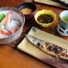 【下野】ボリューム満点!「まこと寿し」のランチはお寿司もサンマもBIGサイズ!