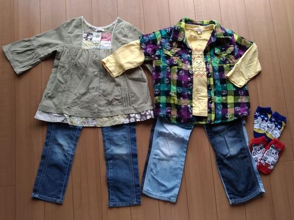 フリマで買った子供服