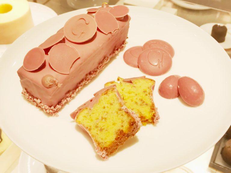 """クラブハリエのバレンタイン♪ピンク色がかわいい""""第4のチョコ""""ルビーチョコレートでとびきりの愛をこめて"""