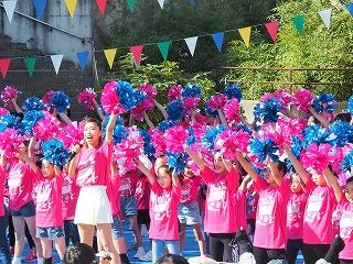 Let's GO! TSUZUKI CHEERDAN! 都筑区300人応援団をお披露目