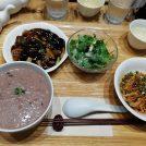 【南青山】avex本社前!身体と心を癒すお粥と汁なし担々麺の薬膳ランチ