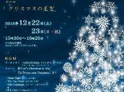 12/22(土)・23(日・祝)プラネタリウム特別投影 星空リラクゼーション「クリスマスの星空」