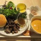 なんばスカイオITADAKIMASU食べ歩き第四弾は「Double Doors Kitchen」で美味しい妻地鶏や有機野菜