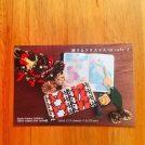 【岡山市南区】模様作家 河田加代子「旅するクリスマス in cafe Z」