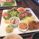 安心野菜と健康なお肉の「農場ランチプレート」~長津田農場
