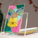 鮮やかな色彩が魅力♪ステンドグラス風のグラスアートに挑戦しよう@松山市