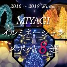 2018-2019冬|宮城イルミネーションスポット8選