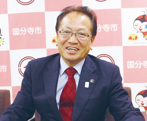 国分寺市長  井澤 邦夫さん