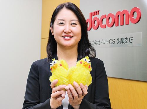 ドコモCS多摩支店 支店長  本(もと) 昌子さん