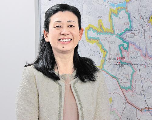 東京ガス多摩支店 地域広報グループ 田口 親子さん
