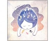 丸ペンやサインペンを使用した点描画。札幌在住の佐藤香織さんが描いた約20点を楽しめます