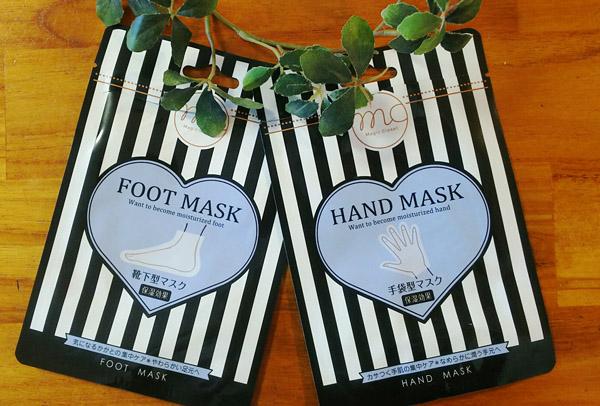 【3coins】保湿効果抜群!ハンド&フットマスクを試してみた♪