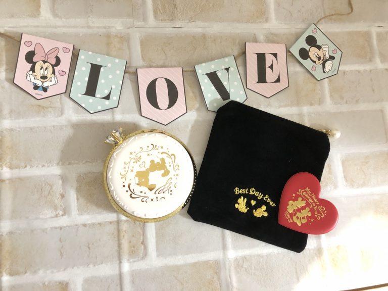 【豪華付録】可愛すぎるゼクシィのミッキー&ミニー指輪型印鑑ケース♡