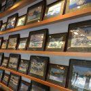 【両国】北斎美術館そばのカフェ「ORI TOKYO」織りの北斎画が圧巻