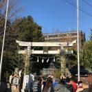 あけましておめでとうございます 初詣@センター北の杉山神社