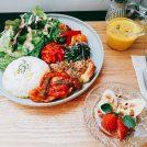 吉祥寺「ホサナカフェ」野菜たっぷり土曜日限定プレートランチは大人気