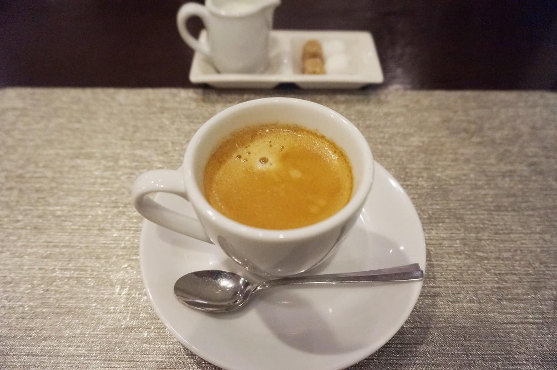 三鷹「エサンス」ランチコースのコーヒー