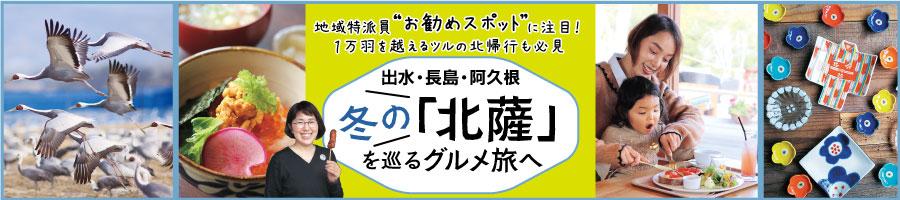 冬のお出かけにお勧め!日本最大のツルの渡来地出水や長島・阿久根の「北薩」へ行こう!!