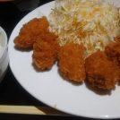 北新地のオイスターバー「THE PARTY」の定食はカキフライ6個付き780円!