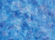 「肌で感じることを表現したい」という思いで描いた抽象油彩画展を3月3日まで開催中
