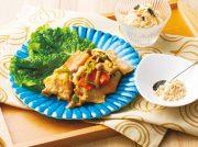 サムギョプサル風甘辛炒め 韓国風ポテトサラダ