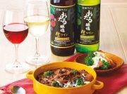 エゾシカ肉のシチュー 焼き菜の花のチーズソース