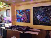 キッズスペース完備!レトロなビルの音楽&アート空間@伊丹「モグラカフェ」