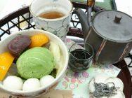 私のおススメ、抹茶が香る美味しいあんみつを召し上がれ@茶茶