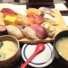 【三田】ランチ握り980円!火曜は女性100円引き「寿司 魚がし日本一」