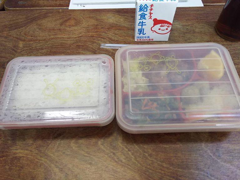 広島市にもハマ弁がある!?中学校の学校給食、試食してきました☆