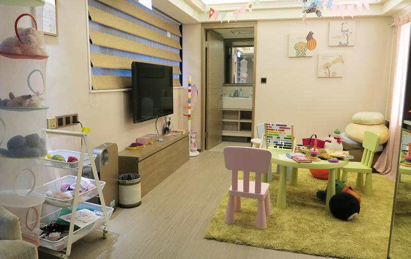 台北「英倫產後護理之家」のキッズルーム