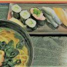 日野駅周辺変わったね!ラーメン付きお寿司を。