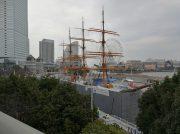 【みなとみらい】帆船日本丸は2年間の大規模改修中!