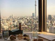 【浅草】東京スカイツリー®や浅草寺を一望しながらランチ食べ放題!