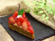「お菓子工房バニーユ」いちごのタルト、いちごの美味しさがぎゅーっと!