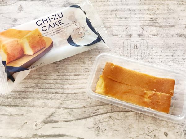 【ファミマ】見つけたら即買い!新しい地図「CHI-ZU CAKE」