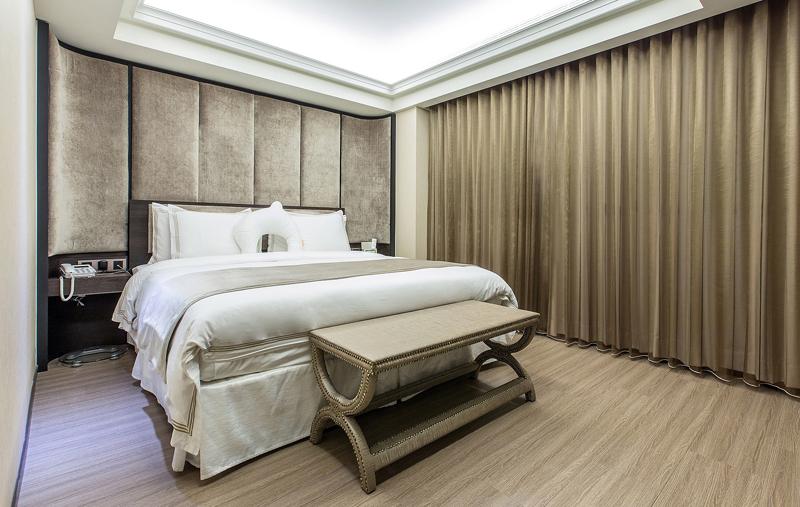 台北「英倫產後護理之家」寝室